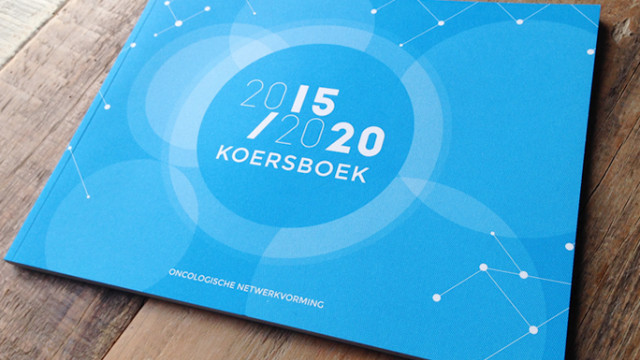 Koersboek Oncology is a joint initiative of the Taskforce Oncology Netherlands. With this book, the Taskforce delivers a vision how to support and stimulate the comprehensive cancer networks in The Netherlands.
