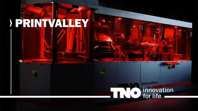 3D printing is going to be the tool of the future. TNO's PrintValley forms a solid base for this. Terralemon made a film of the highly technical Hyproline 3D.