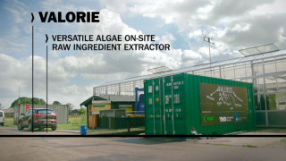 TNO has a mobile pilot plant for algae refinery into operation under the name Valorie. Terralemon created a film that clearly explains what Valorie is and does.